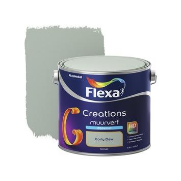Early Dew Flexa.Flexa Creations Muurverf Early Dew Zijdemat 2 5 Liter