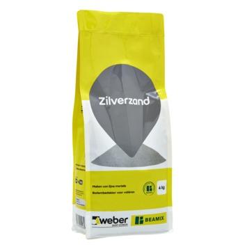 Weber zilverzand 820 4 kg.