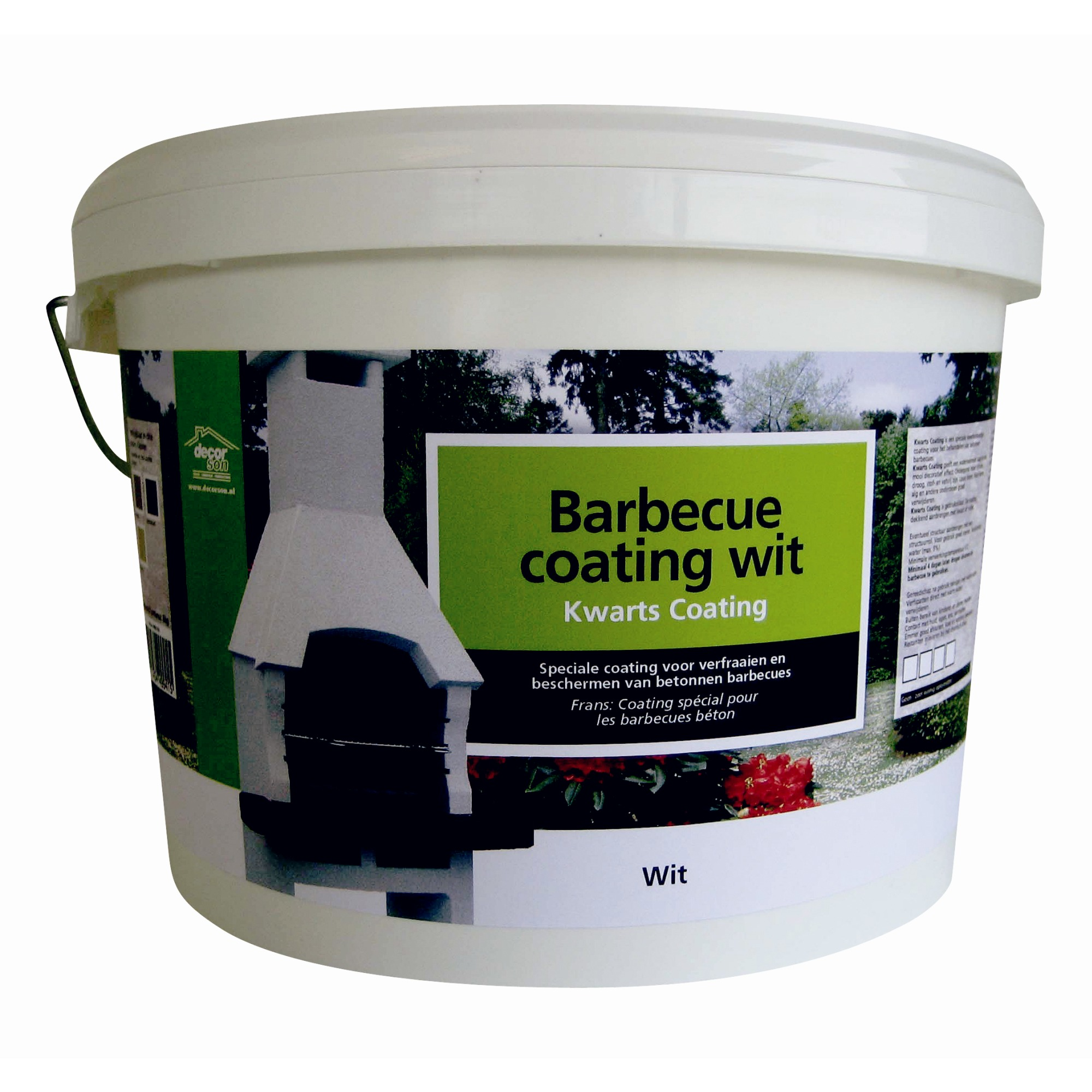 Barbecuecoating wit 8 kg