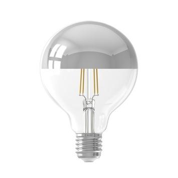 Calex LED filament globe E27 4 W 280 Lm zilver