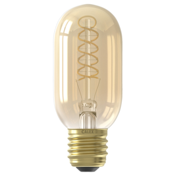 Calex LED filament buis E27 4 W 200 Lm dimbaar goud