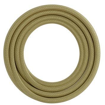 Calex kabel textiel 2x0,75mm2 1,5M goud