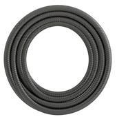 Calex kabel textiel 2x0,75mm2 1,5M metallic grijs