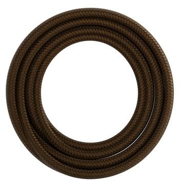 Calex kabel textiel 2x0,75mm2 3M bruin