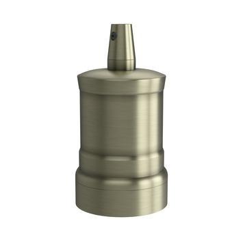 Calex E27 lamphouder aluminium model piek M-035 mat brons