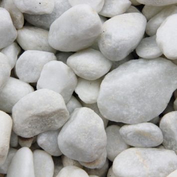 Grind Keien Carrara Wit 40-60 mm