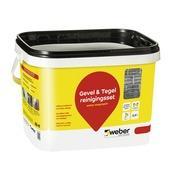 Weber repair tegel & gevel reinigingsset 2,5 liter