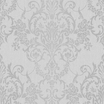 Vliesbehang Versailles grijs 105967