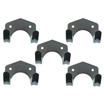GAMMA gereedschapshaken staal 5 stuks