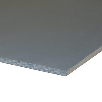 Compactplaat antraciet 6 mm 244x61 cm