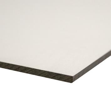 Compactplaat wit 6 mm 244x30,5 cm