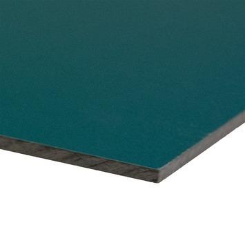 Compactplaat groen 6 mm 244x30,5 cm