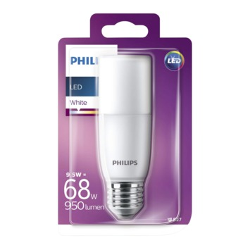 Philips LED staaflamp E27 9,5 W 950 Lm