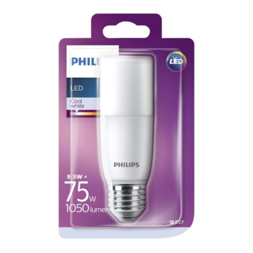 Philips LED staaflamp E27 9,5 W 1050 Lm