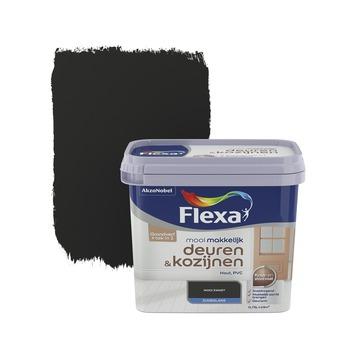 Flexa Mooi Makkelijk deuren&kozijnen zwart zijdeglans 750 ml