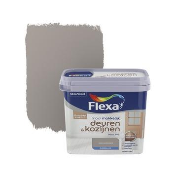 Flexa Mooi Makkelijk deuren&kozijnen warmgrijs zijdeglans 750 ml