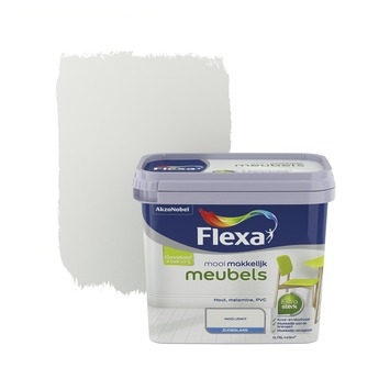 Flexa Mooi Makkelijk meubels ijswit zijdeglans 750 ml