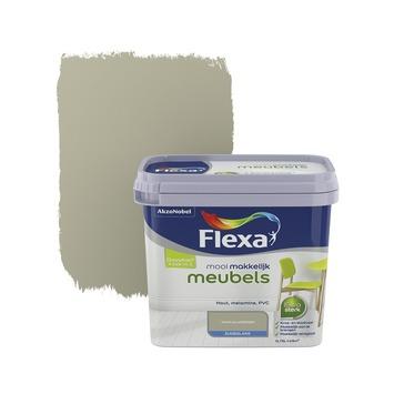Flexa Mooi Makkelijk meubels olijfgroen zijdeglans 750 ml