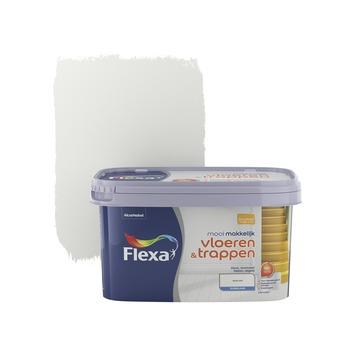 Flexa Mooi Makkelijk vloeren&trappen wit zijdeglans 2,5 liter