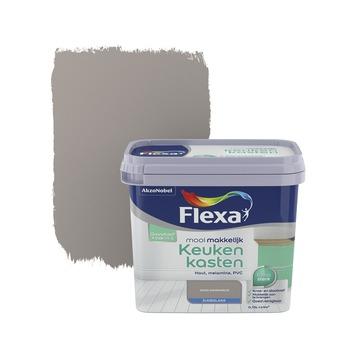 Flexa Mooi Makkelijk keukenkasten warmgrijs zijdeglans 750 ml