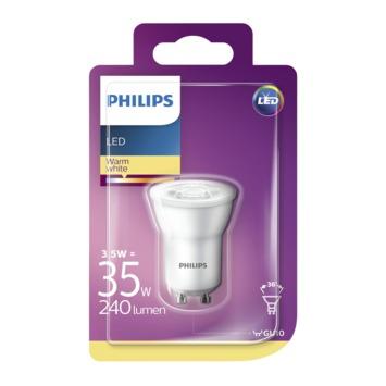 Philips LED spot GU10 35W warm wit
