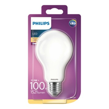 Philips LED peerlamp E27 11,5 W 1521 Lm