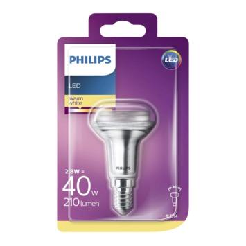 Philips LED classic reflector 40W R50 E14 warmwit