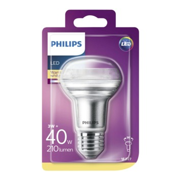 Philips LED classic reflector 40W R63 E27 warmwit
