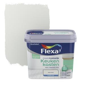 Flexa Mooi Makkelijk keukenkasten ijswit zijdeglans 750 ml