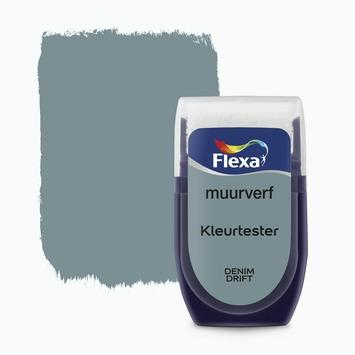 Flexa Creations muurverf Kleurtester Denim Drift mat 30ml