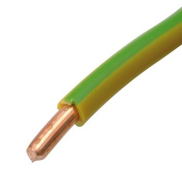 HANDSON installatiedraad VD 2,5 mm² geel/groen 10 meter