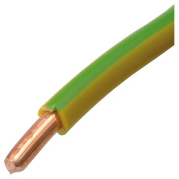 HANDSON Installatiedraad VD 2,5 mm²  geel/groen 25 meter