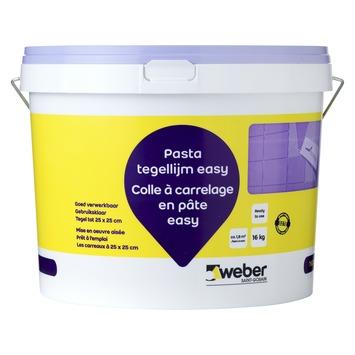 Weber pasta tegellijm easy beige 16kg