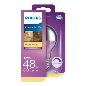 Philips LED Classic 48w E27 warm wit