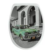 Van Marcke WC bril Cuba Kunststof met Softclose