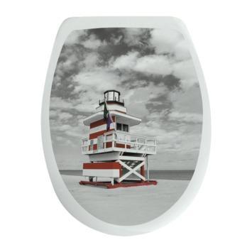 Van Marcke WC bril Miami Kunststof met Softclose