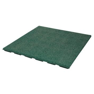 Terrastegel Rubber Groen 50x50 cm - Per Tegel / 0,25 m2