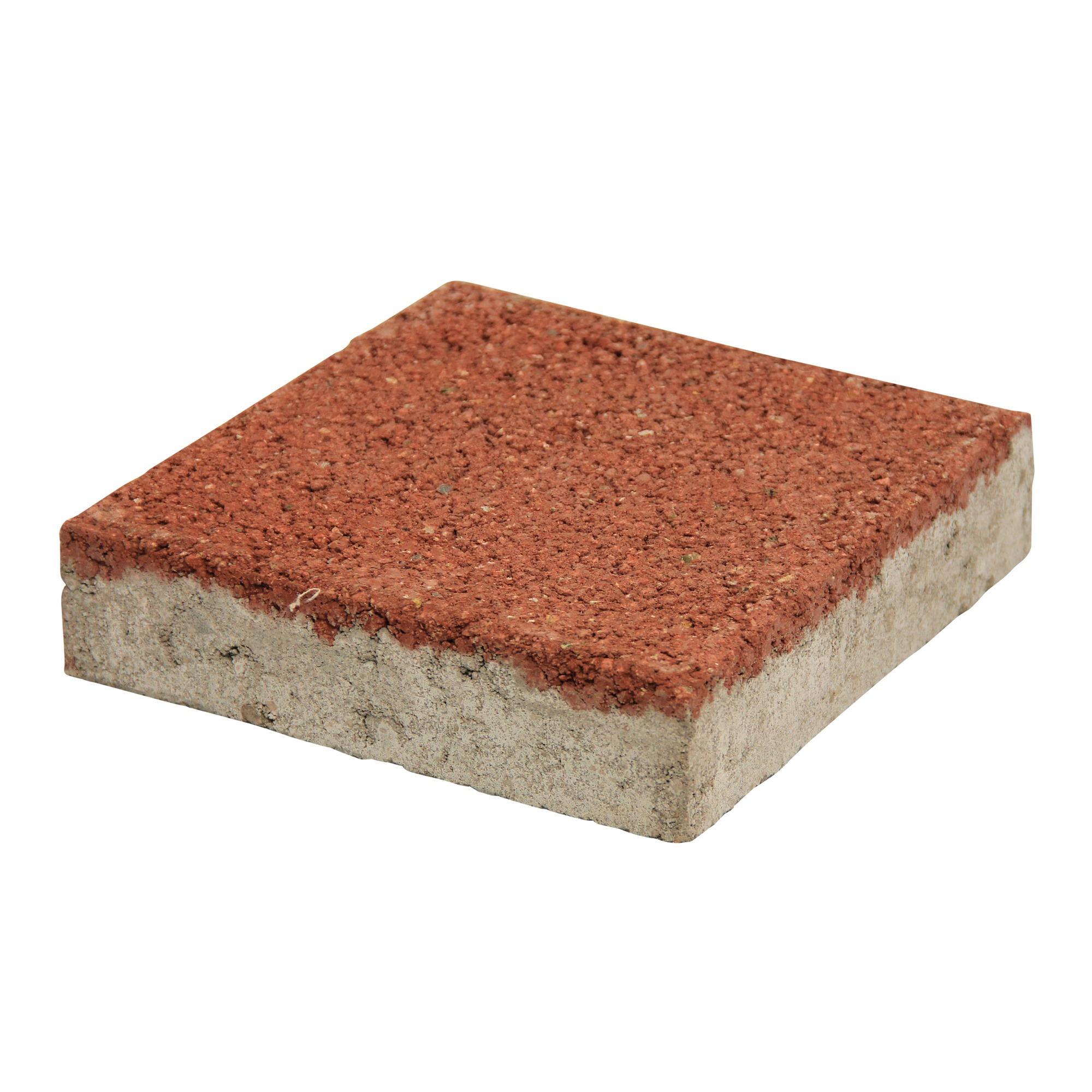 Pasblok Beton Rood 20x20 cm - Per Stuk - 0,04 m2