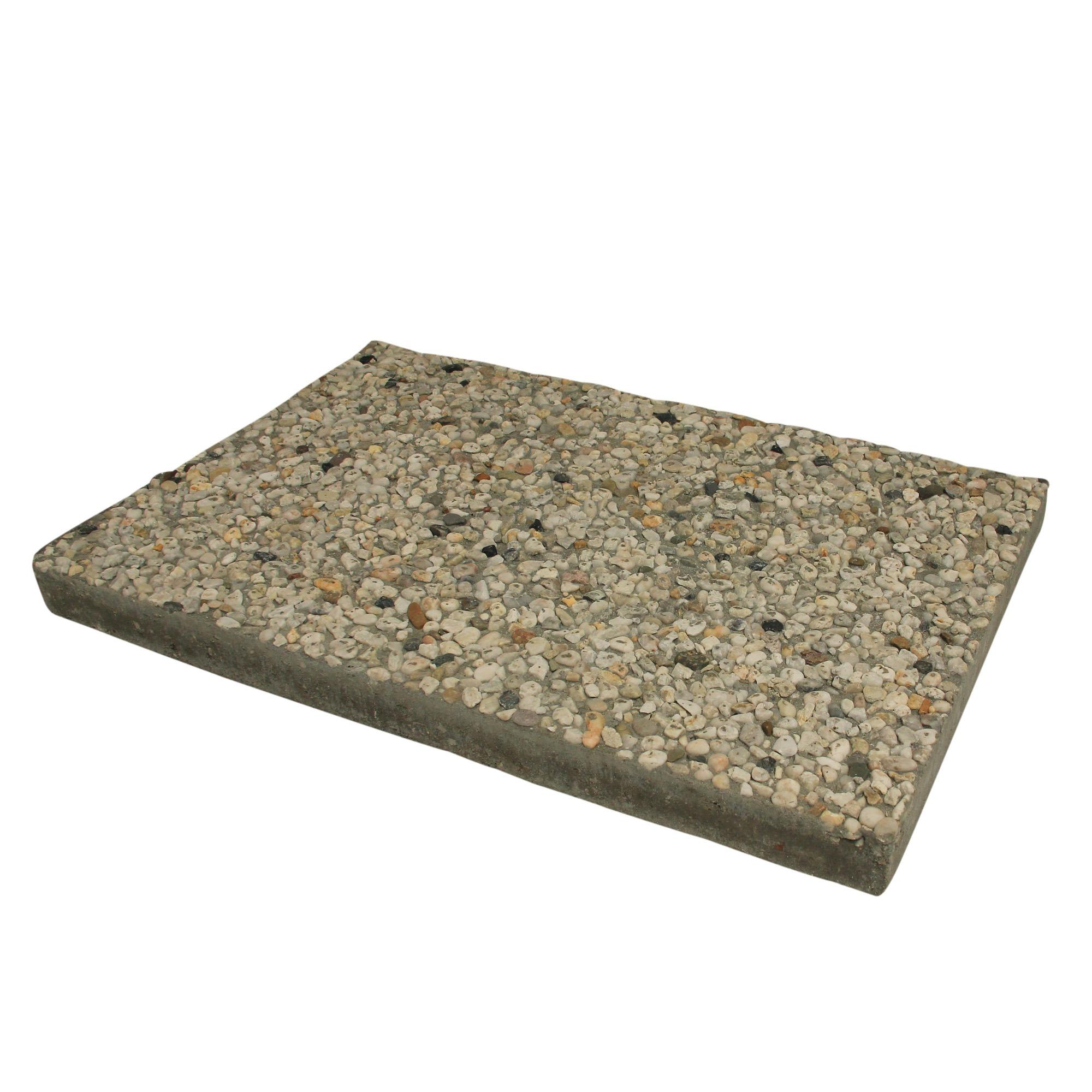 Grindtegel Wit/Geel 60x40 cm - Per Tegel - 0,24 m2