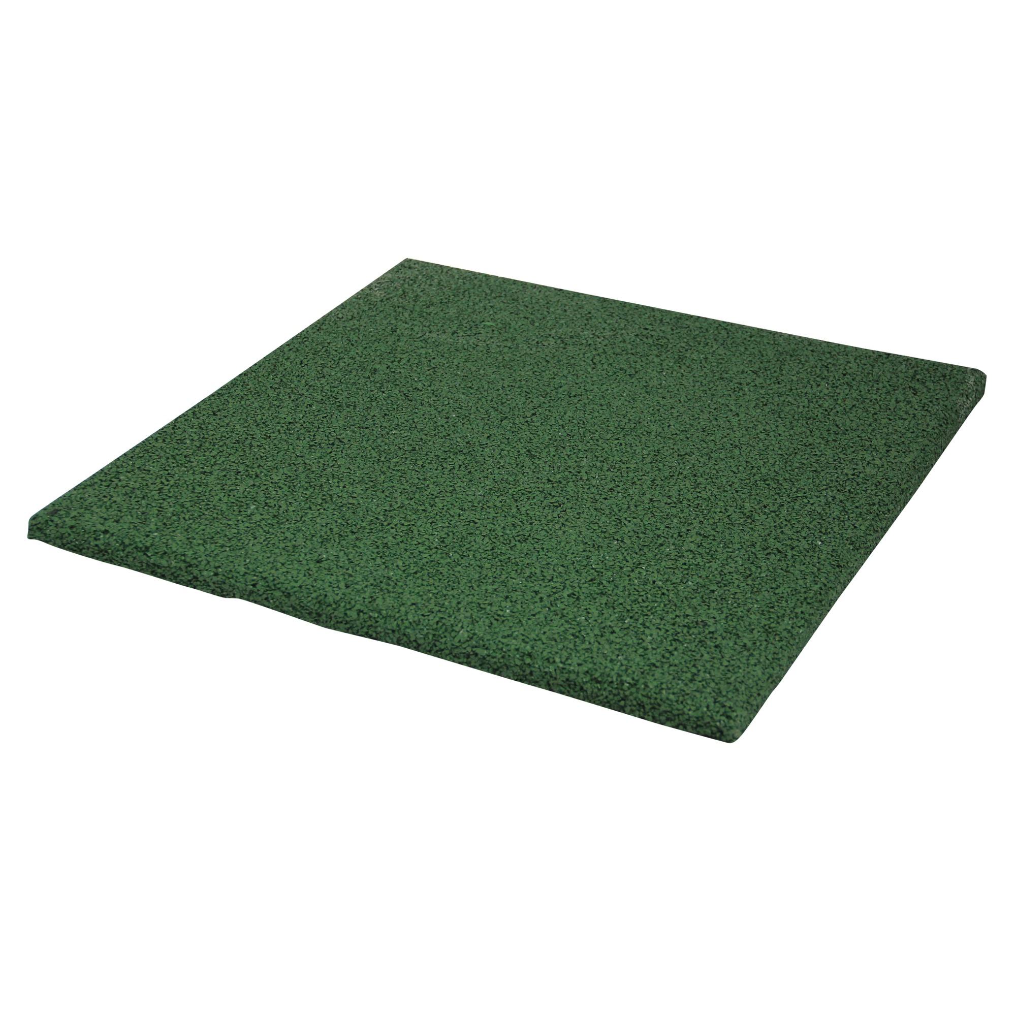 Terrastegel Rubber Groen 40x40 cm - 240 Tegels - 38,40 m2