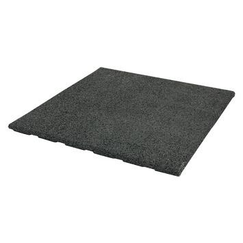 Drainage Tegels 50x50.Terrastegel Rubber Zwart 50x50 Cm 46 Tegels 11 50 M2