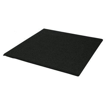 Betontegels 60x40 Gamma.Terrastegel Rubber Zwart 40x40 Cm 40 Tegels 6 40 M2