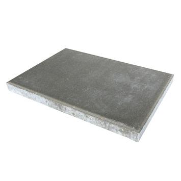 Grijze Grote Tuintegels.Betontegel Grijs 60x40 Cm 50 Tegels 12 0 M2