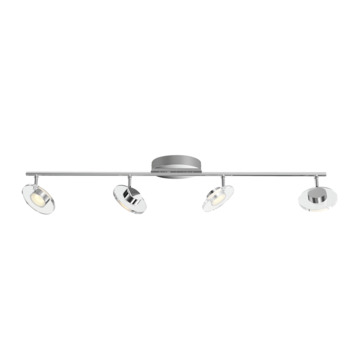 Philips Opbouwspot MyLiving Glissette LED Chroom 4 x 4,5W