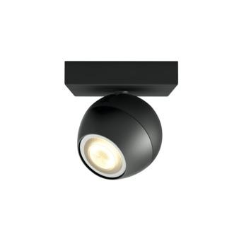 Philips Hue opbouwspot Buckram LED Zwart 5,5W