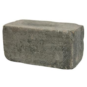 Stapelblok Beton Getrommeld Antraciet 30x15x15 cm - 80 Stuks