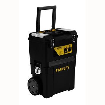 Stanley gereedschapswagen zwart