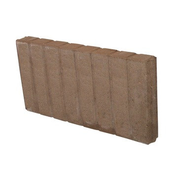 Palissade Beton Bruin 50x25x6 cm