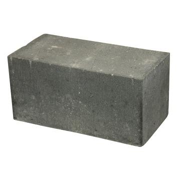 Stapelblok Beton Plano Antraciet 30x15x15 cm - 16 Stuks