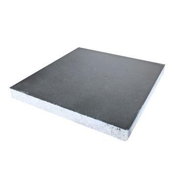 Betontegels 60x60 Antraciet.Betontegel Antraciet 60x60 Cm 2 Tegels 0 72 M2